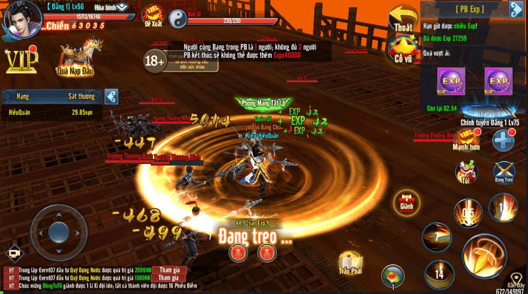Mẹo chơi, cách chơi Hành Tẩu Giang Hồ Mobile dành cho tân thủ (5)