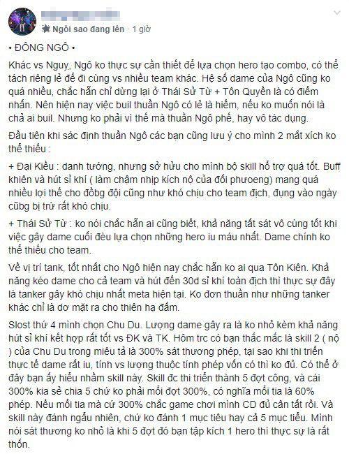 Review đội hình full Ngô (chiến thuật hút sĩ khí) trong 3Q Ai Là Vua (2)