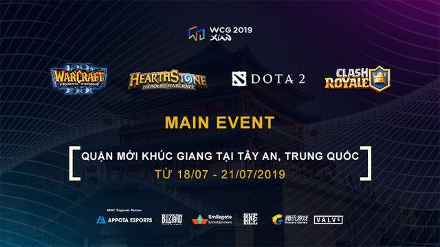 Lịch phát sóng cụ thể các bộ môn của WCG 2019 vòng chung kết (8)