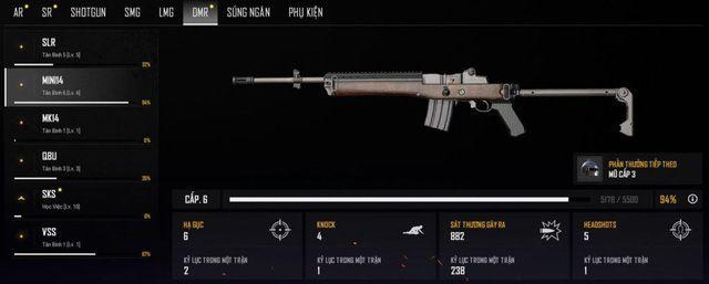 Top 4 khẩu súng DMR được game thủ yêu thích sử dụng nhất 2019 (3)