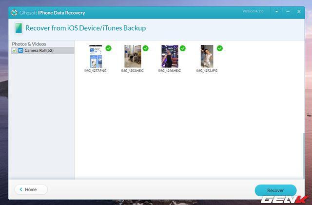 Cách khôi phục tin nhắn, hình ảnh, video đã xóa trên iPhone (10)