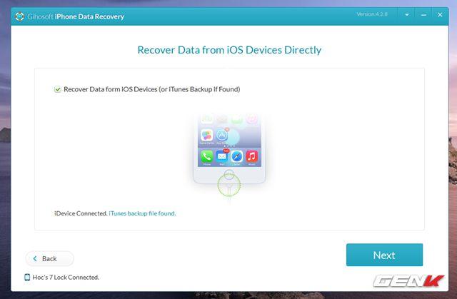Cách khôi phục tin nhắn, hình ảnh, video đã xóa trên iPhone (6)
