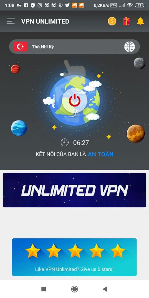 Hướng dẫn fake IP PUBG Mobile sang Thổ Nhĩ Kỳ để nhận quà FREE (1)
