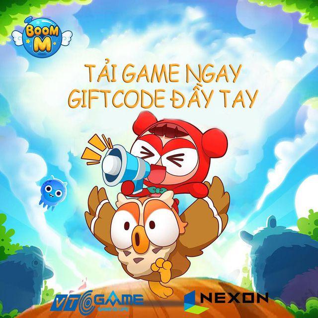 Tải và nhập giftcode Boom M để nhận ngay những phần quà hấp dẫn (3)