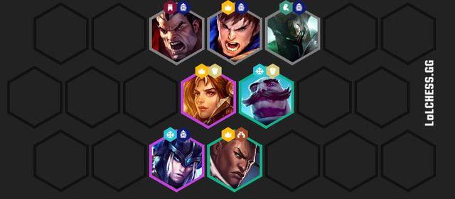 ĐTCL: Hướng dẫn cách xây dựng đội hình siêu phòng thủ Hiệp Sĩ - Hộ Vệ (3)