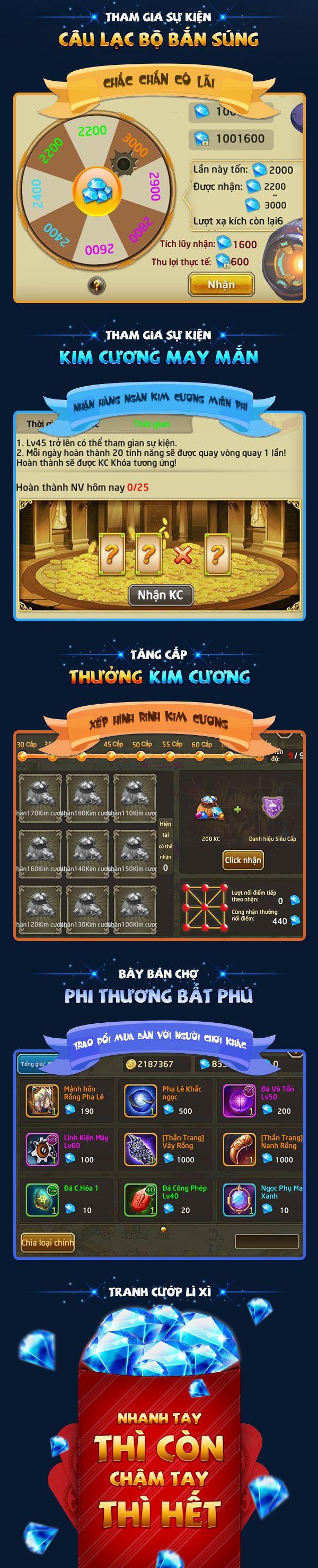 """Nhận full 5 giftcode """"xịn"""" game Lục Địa 2 & mẹo chơi không cần nạp (4)"""
