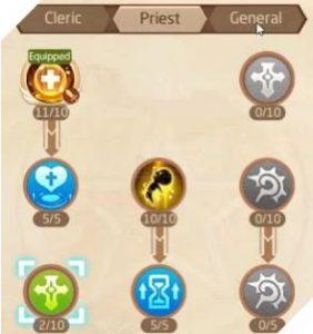 Laplace M: Cách tăng điểm kĩ năng cho Mục sư, Thần Quan và Vũ Sư (2)