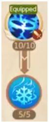 Laplace M: Cách tăng điểm kỹ năng cho Pháp Sư, Phù Thủy Băng & Lửa (12)