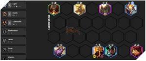 ĐTCL bản 10.3: Cách chơi đội hình 6 Ánh Sáng không Xẻng Vàng (2)