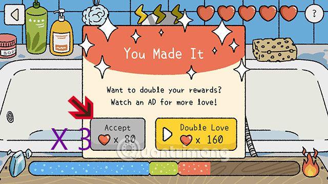 Cách bug tim, cách hack tim Adorable Home trên Android & iOS (1)