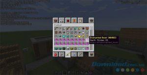 Các loại bùa kiếm, bùa cho cung tên, bùa trang phục trong Minecraft (9)