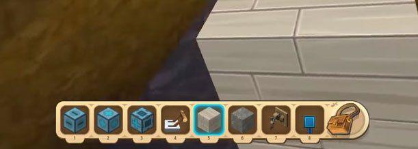 Hướng dẫn cách chế tạo cửa tự động trong Mini World: Block Art (1)