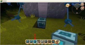 Hướng dẫn cách chế tạo cửa tự động trong Mini World: Block Art (12)