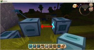 Hướng dẫn cách chế tạo cửa tự động trong Mini World: Block Art (13)