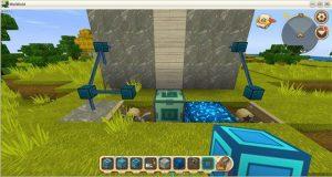 Hướng dẫn cách chế tạo cửa tự động trong Mini World: Block Art (15)
