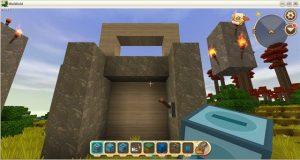 Hướng dẫn cách chế tạo cửa tự động trong Mini World: Block Art (6)
