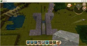 Hướng dẫn cách chế tạo cửa tự động trong Mini World: Block Art (8)
