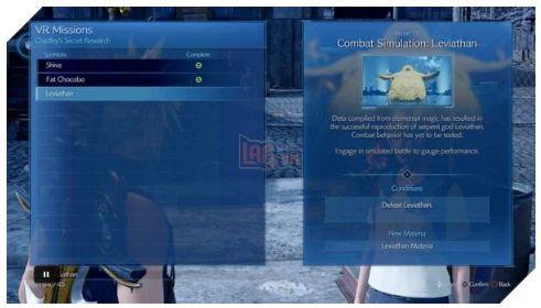 Cách mở khóa Leviathan trong Final Fantasy 7 Remake (1)