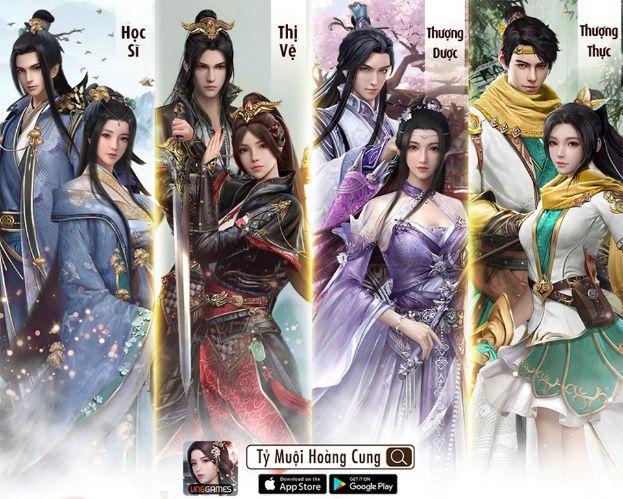 Game cung đấu ngôn tình Tỷ Muội Hoàng Cung có gì hấp dẫn? (1)