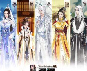 Game cung đấu ngôn tình Tỷ Muội Hoàng Cung có gì hấp dẫn? (3)