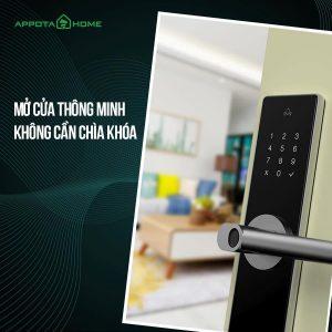 Cuộc sống an toàn và bảo mật hơn với khóa điện tử thông minh (1)