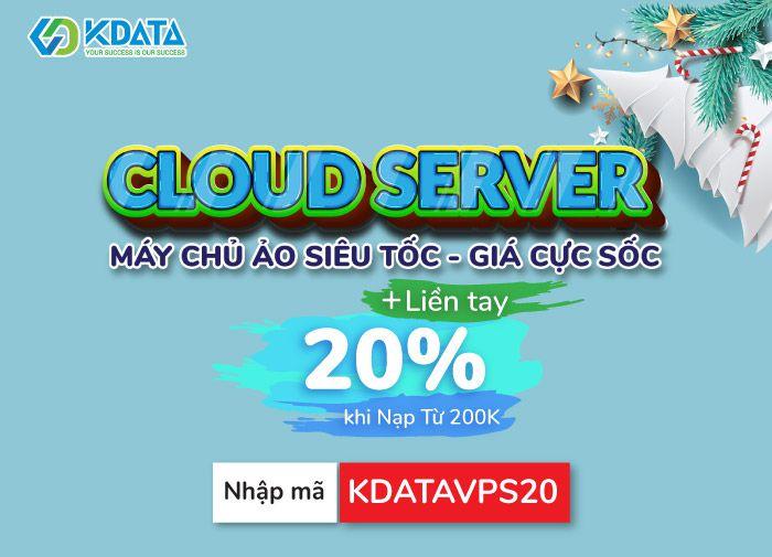 Khuyến mãi HOT dịch vụ Cloud Server, WordPress Hosting & Domain.Vn - KDATA (1)