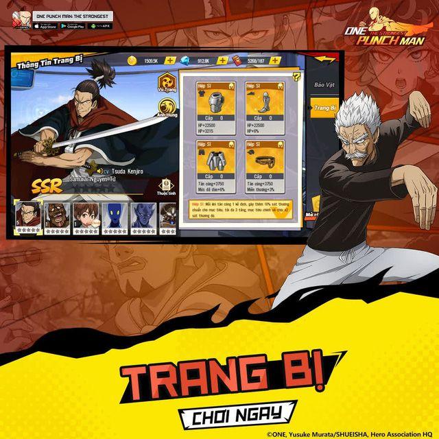 5 bước mạnh hóa nhân vật trong One Punch Man: The Strongest (5)